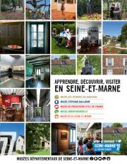 Couverture du guide des 5 musées départementaux