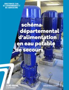 couverture du schéma départemental de l'eau potable