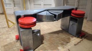 Un meuble du designer Michel Dufet
