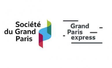 Logos de la société du Grand Paris et de Grand Paris express