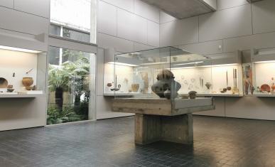 intérieur du musée de Préhistoire
