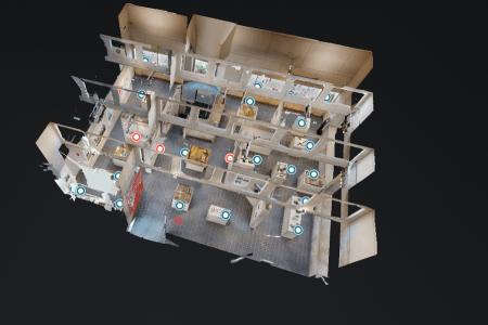 perspective d'une exposition virtuelle