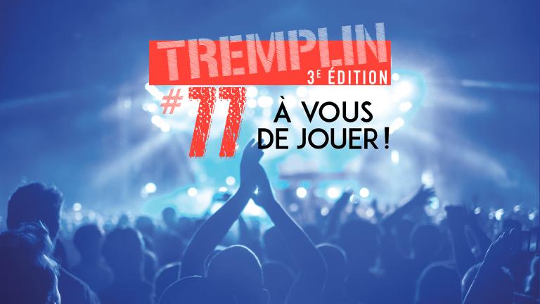 affiche de la soirée de clôture Tremplin#77 2020